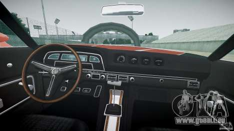 Mercury Cyclone Spoiler 1970 pour GTA 4 est un droit