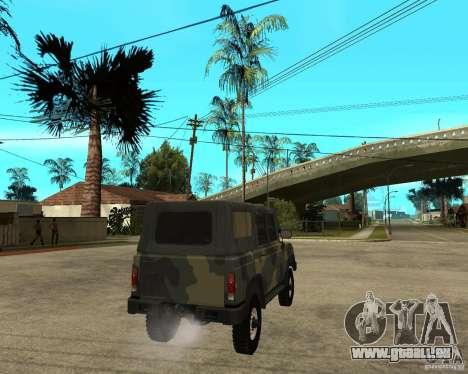 UAZ-3172 für GTA San Andreas zurück linke Ansicht