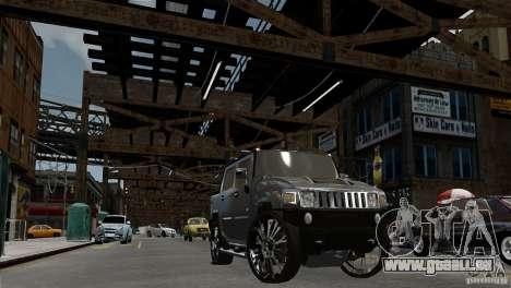 Hummer H2 SUT für GTA 4 rechte Ansicht