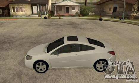 Pontiac G6 Stock Version für GTA San Andreas linke Ansicht