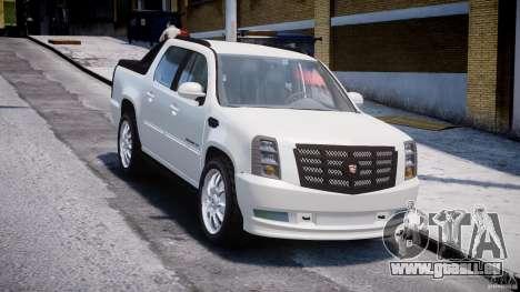 Cadillac Escalade Ext pour GTA 4