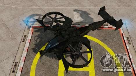 Ein Kampfhubschrauber AT-99 Scorpion für GTA 4 rechte Ansicht
