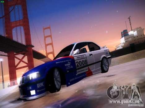 BMW M3 E36 320i Tunable pour GTA San Andreas vue de côté