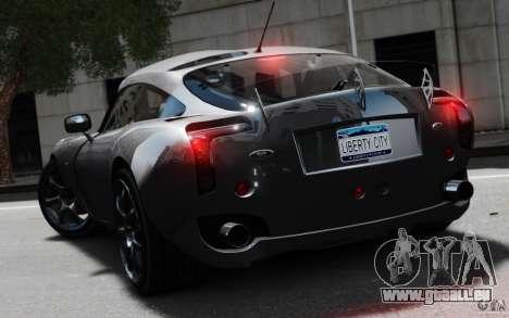 TVR Sagaris MKII v1.0 pour GTA 4 est une gauche