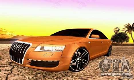 Audi A6 Blackstar pour GTA San Andreas laissé vue