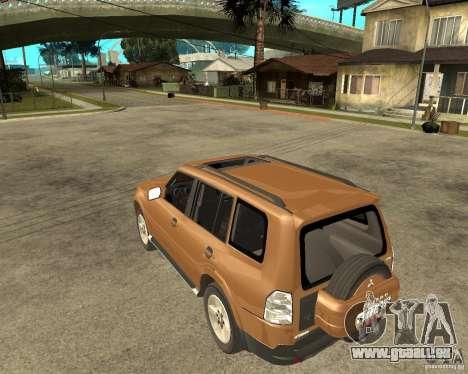 Mitsubishi Pajero für GTA San Andreas linke Ansicht