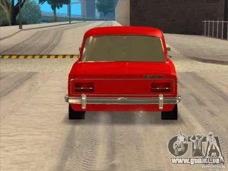 2103 VAZ Resto style pour GTA San Andreas sur la vue arrière gauche