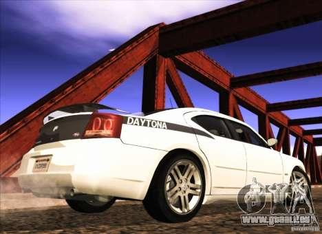 Dodge Charger R/T Daytona für GTA San Andreas zurück linke Ansicht