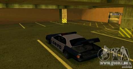 Merit Police Version 2 pour GTA San Andreas vue arrière