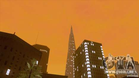 BM Timecyc v1.1 Real Sky pour GTA San Andreas sixième écran