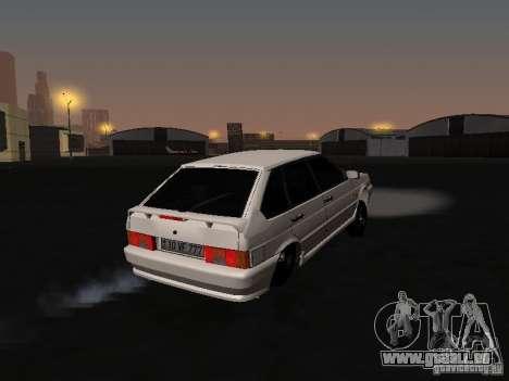ВАЗ 2114-Bully für GTA San Andreas rechten Ansicht
