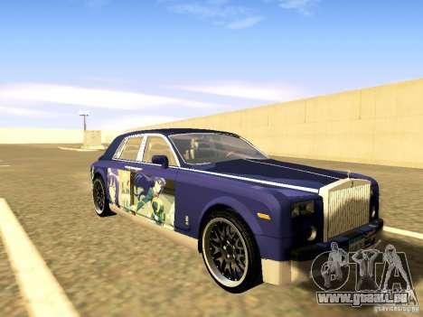 Rolls-Royce Phantom V16 für GTA San Andreas Räder