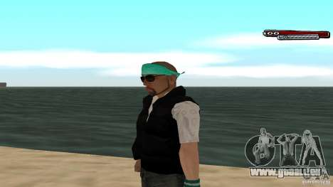 Skin Pack The Rifa Gang HD pour GTA San Andreas huitième écran