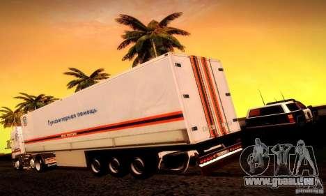 FEMA-Trailer-Russland für GTA San Andreas linke Ansicht