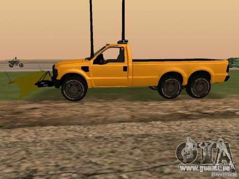 Ford Super Duty F-series pour GTA San Andreas laissé vue