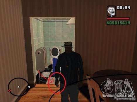 Étron pour GTA San Andreas troisième écran