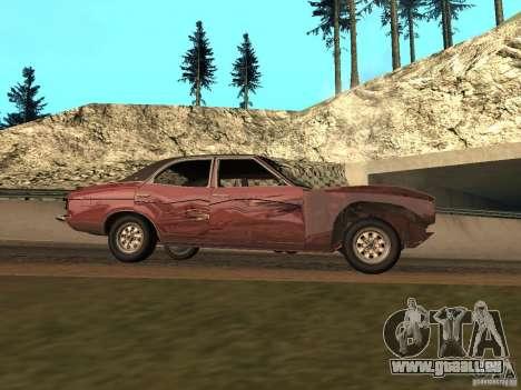 Ford Cortina MK 3 2000E pour GTA San Andreas vue de côté