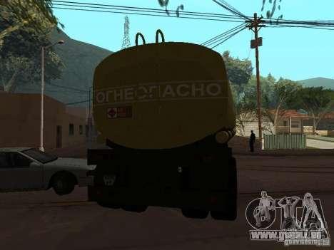 réservoir PPC pour GTA San Andreas sur la vue arrière gauche