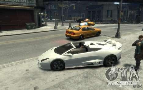 Lamborghini Reventon Roadster REDUX [EPM] pour GTA 4 est une gauche