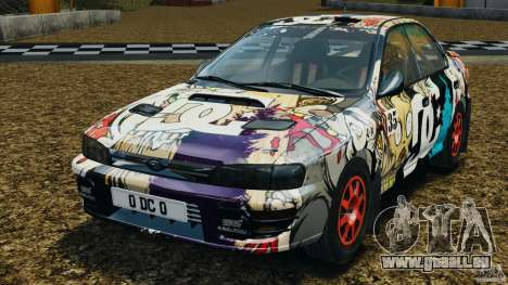Subaru Impreza WRX STI 1995 Rally version pour GTA 4