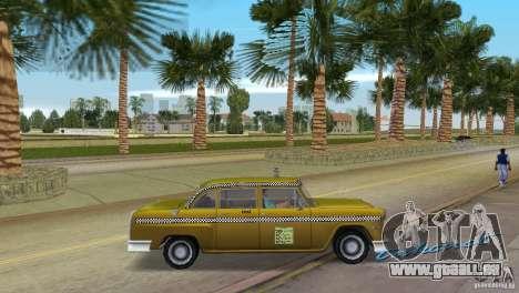 Cabbie HD für GTA Vice City rechten Ansicht