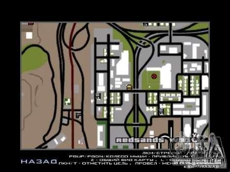 Konzert des AK-47 für GTA San Andreas elften Screenshot