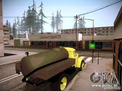 GAZ 51 Assinizator pour GTA San Andreas sur la vue arrière gauche