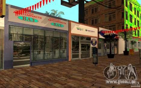Nouvelle rue de la plage pour GTA San Andreas deuxième écran