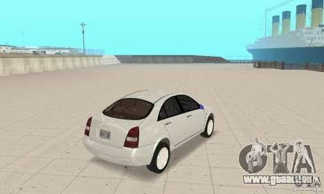 Nissan Primera pour GTA San Andreas laissé vue