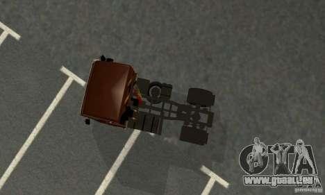 KAMAZ 5460 4 peau pour GTA San Andreas vue arrière