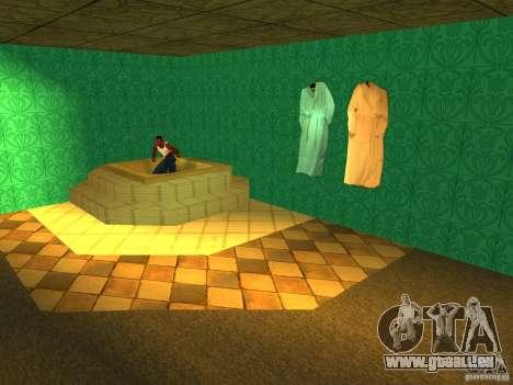 Bordell Cj v1. 0 für GTA San Andreas neunten Screenshot