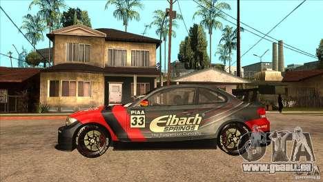 BMW 135i Coupe GP Edition Skin 2 pour GTA San Andreas laissé vue