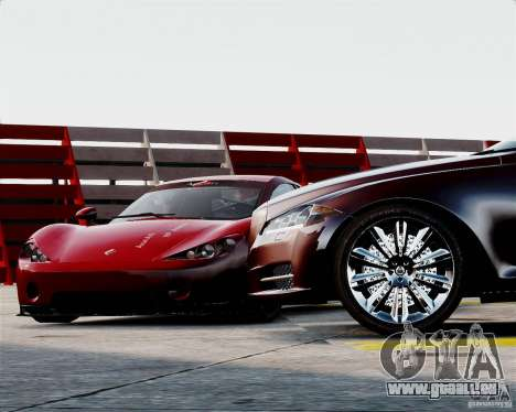 Ascari A10 2007 v2.0 für GTA 4 Seitenansicht