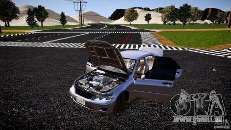 Lexus IS300 pour GTA 4 est un côté