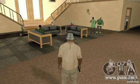 Une Villa pour GTA San Andreas cinquième écran