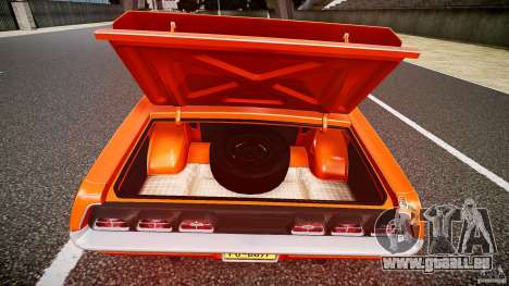 Mercury Cyclone Spoiler 1970 für GTA 4 Unteransicht