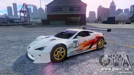 Lexus LFA SH für GTA 4