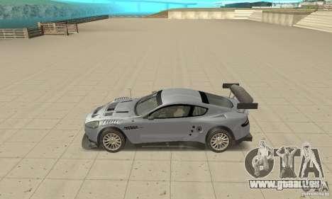 Aston Martin DBR9 (v1.0.0) pour GTA San Andreas laissé vue