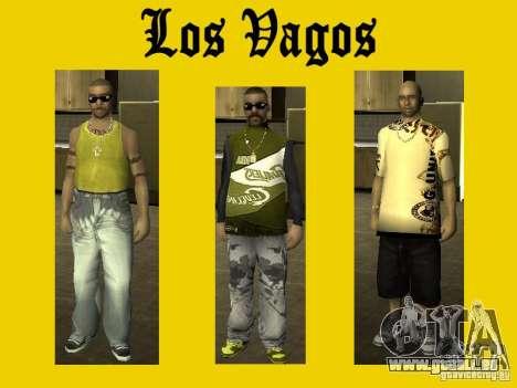 Felle von Vagos-Bande für GTA San Andreas