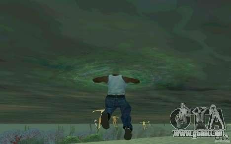 Les gens sont capables de nager pour GTA San Andreas troisième écran