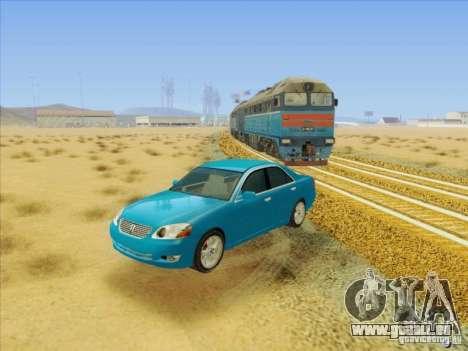 Toyota Mark II Grande für GTA San Andreas Seitenansicht