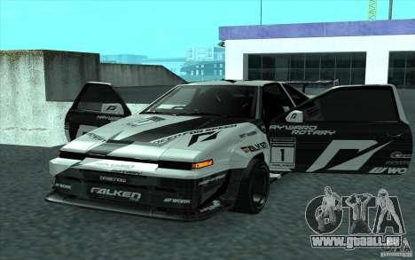 Toyota Corolla AE86 Shift 2 pour GTA San Andreas vue arrière