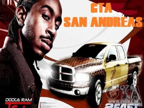 Laden-Bildschirme für GTA San Andreas zweiten Screenshot