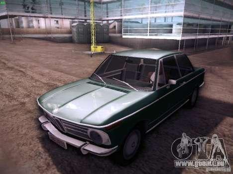 BMW 2002 1972 pour GTA San Andreas laissé vue