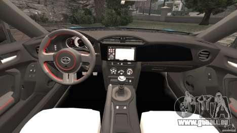 Scion FR-S für GTA 4 Rückansicht