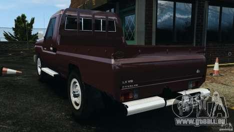 Toyota Land Cruiser Pick-Up 2012 pour GTA 4 est une gauche