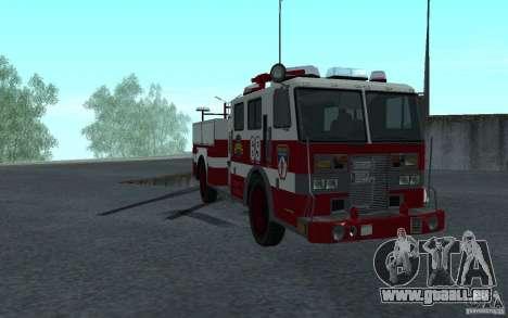 FIRETRUCK pour GTA San Andreas