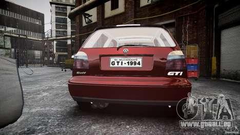 Volkswagen Golf MK3 GTI pour GTA 4 est un côté