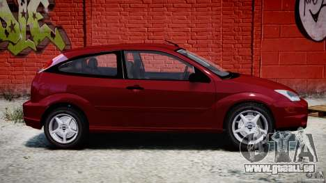 Ford Focus SVT pour GTA 4 est une gauche