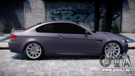 BMW M3 E92 stock pour GTA 4 Salon